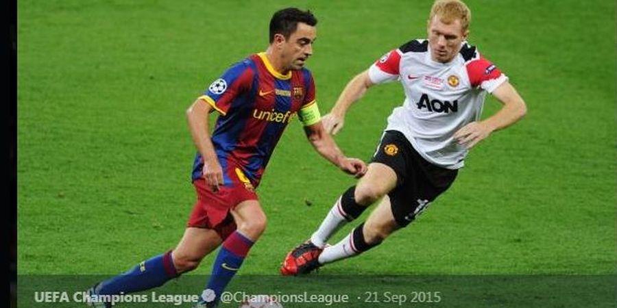 Momen Wayne Rooney Memohon Belas Kasihan pada Xavi Hernandez