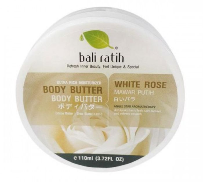 Bali Ratih Body Butter White Rose
