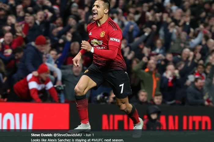 Striker Manchester United, Alexis Sanchez