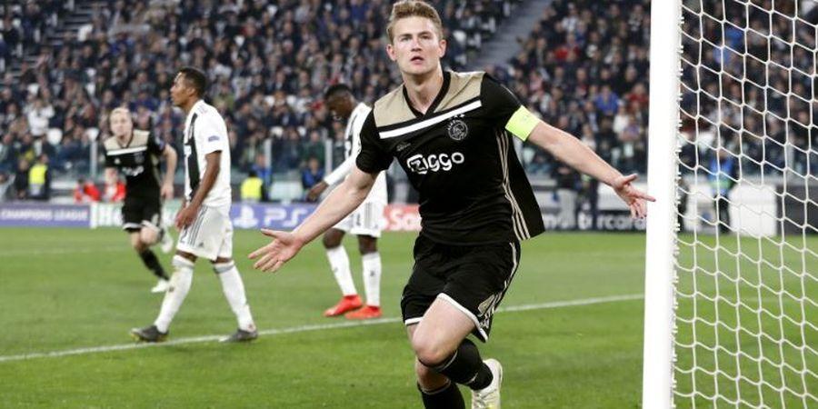 De Jong Jawab Rumor Hengkangnya Matthijs de Ligt ke Barcelona