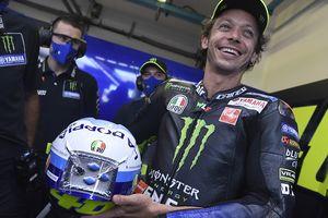 Begini Cara Yamaha Bikin Valentino Rossi Spesial di MotoGP 2021