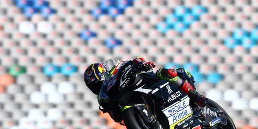 Hasil FP2 MotoGP Portugal 2020 - Johann Zarco Tercepat, Valentino Rossi Alami Crash