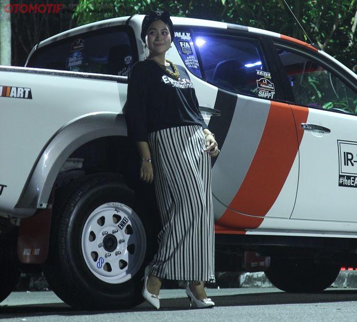 Siapa sangka mobil ini pemiliknya seorang wanita cantik?