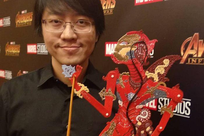 Is Yuniarto berhasil sulap karakter Avengers jadi wayang