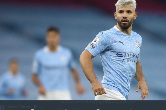 Sergio Aguero akan dibangunkan monumen patung oleh bos Manchester City