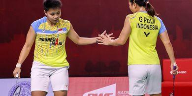 Hasil Thailand Open I 2021 - Via 'Rubber Game', Greysia/Apriyani Raih Kemenangan