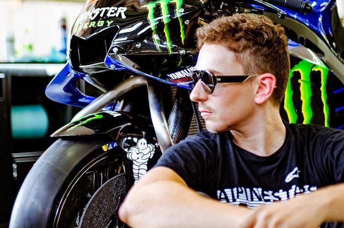 Test rider Yamaha, Jorge Lorenzo.