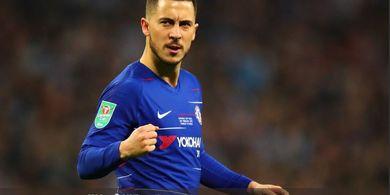 Hazard Diizinkan Gabung ke Real Madrid Asalkan Penuhi 1 Syarat dari Chelsea