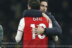 Mikel Arteta Ungkap Alasan Arsenal Tidak Memainkan Mesut Oezil