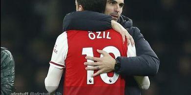 Agen Mesut Oezil Kecam Mikel Arteta dan Sebut Manajer Arsenal Berbohong