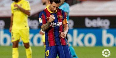 Wonderkid Barcelona Moncer Lawan Villarreal Berkat Lionel Messi