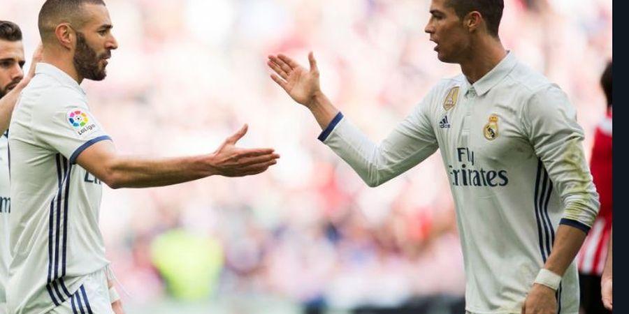 Karena Satu Sikap Ini, Ronaldo Dibuat Jatuh Cinta oleh Benzema di Madrid