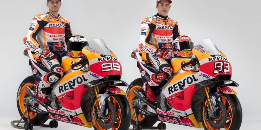 GALERI FOTO - Potret Marquez dan Lorenzo Jelang MotoGP 2019 Dimulai