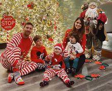 Kostum Natal Lionel Messi Menggelitik Para Fans dan Netizen