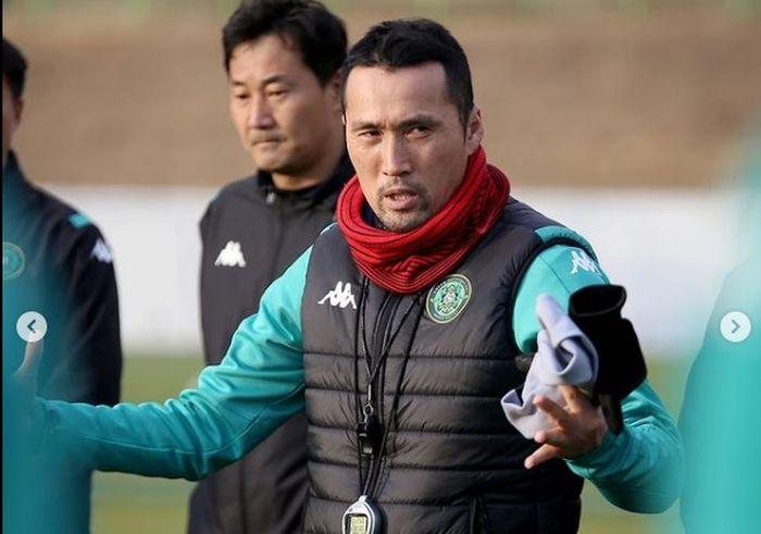 Pelatih Ansan Greeners, Kim Gil-sik