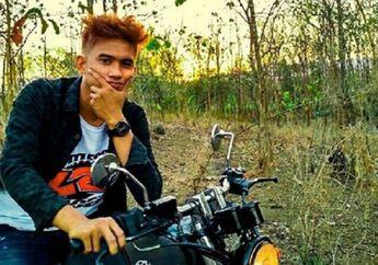 Enggak Nyangka, M Zaki Doyan Motor Custom, Yamaha Scorpio Japs Style Jadi Kesayangan