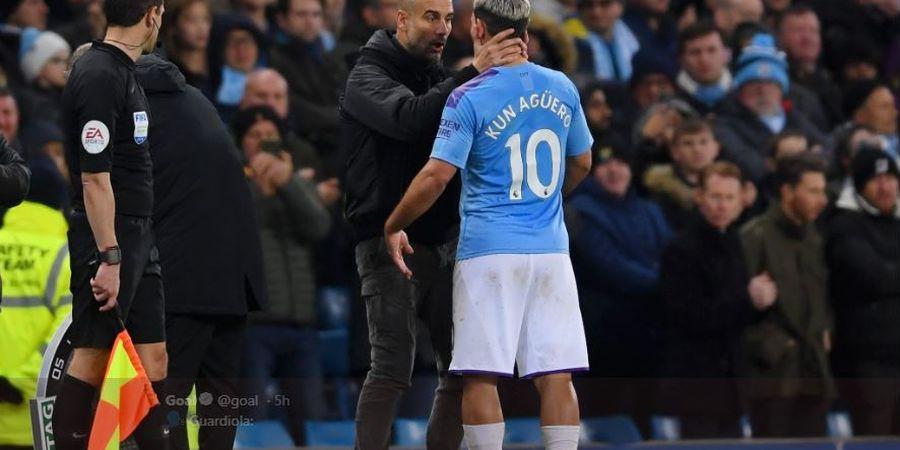 Man City Dicoret dari Liga Champions, Sergio Aguero Diyakini Bertahan