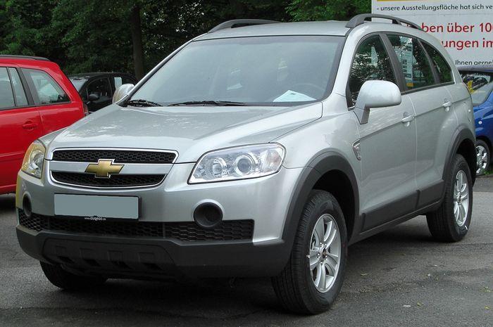 Ilustrasi Chevrolet Captiva