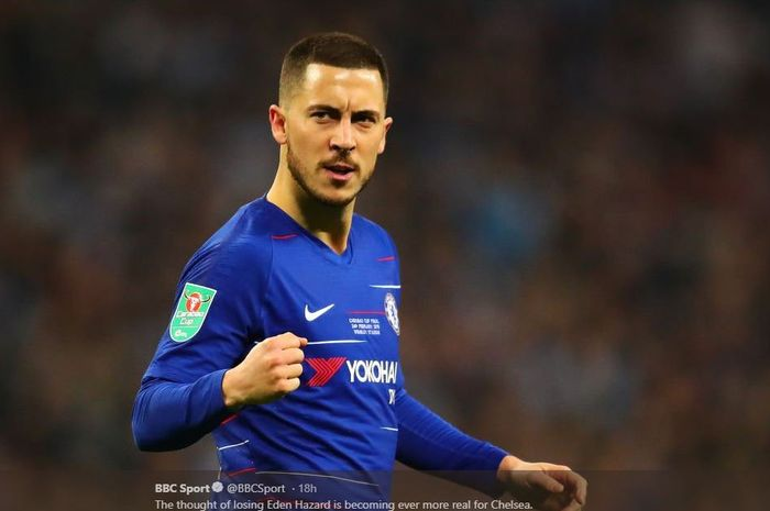 Image result for STRIKER CHELSEA EDEN HAZARD AKAN SEGERA PERGI KE REAL MADRID