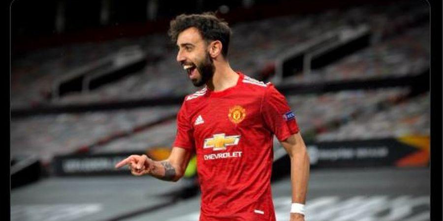 Man United Bakal Sodori Kontrak Baru untuk  Fernandes, Gajinya Mengejutkan