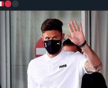 Olivier Giroud Sudah Datang ke Kota Milan, Siap Hadapi Tes Medis!