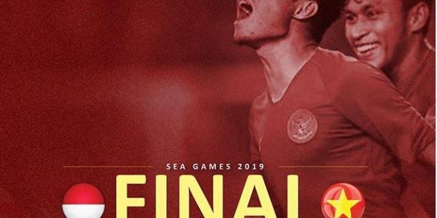 Timnas U-22 Indonesia Tertinggal dari Vietnam pada Babak Pertama Final SEA Games 2019