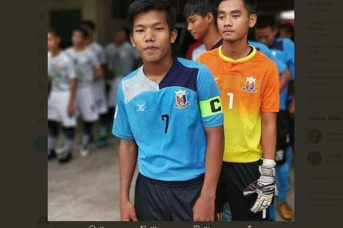 Chit Bo Nyein, wonderkid timnas Myanmar yang tewas tertembak junta militer setempat.