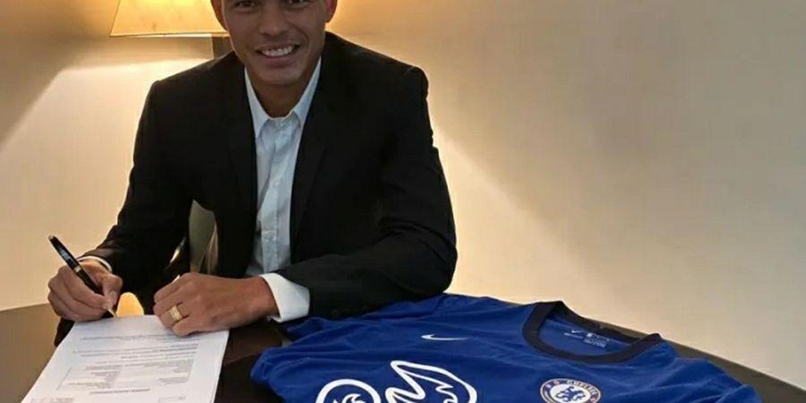 Alasan Thiago Silva Tolak Tawaran Terakhir dari PSG dan Memilih Gabung ke Chelsea