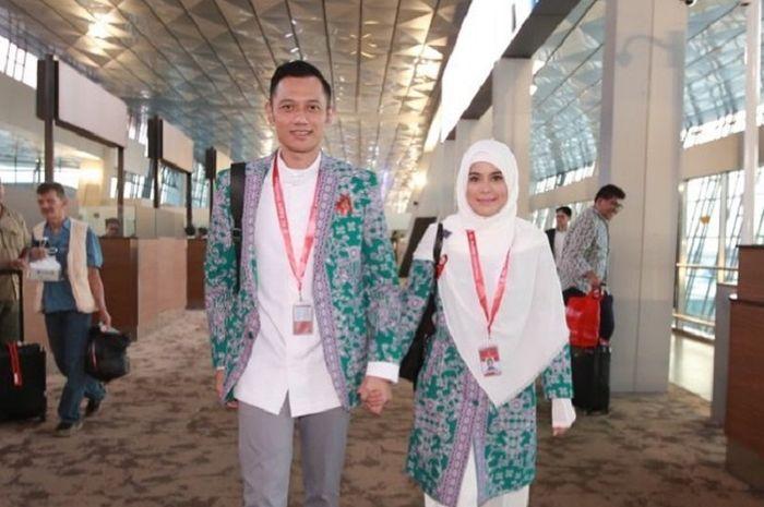 Agus Yudhoyono dan Annisa Pohan