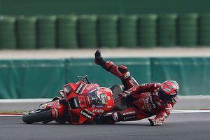 Alami Crash Penutup Asa Juara, Legenda MotoGP Beri Nilai 9 buat Bagnaia