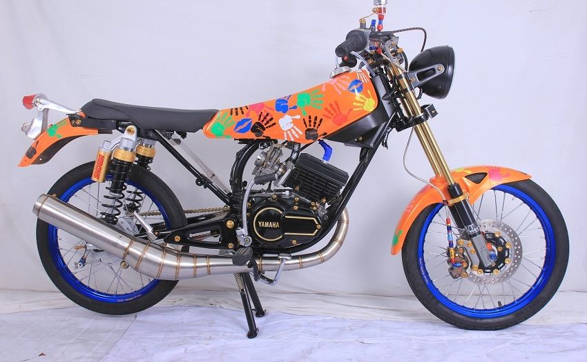 Modifikasi Motor Yamaha Rx King Simple Dan Keren Racing 48