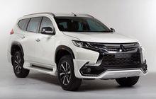 Aplikasi Body Kit Pemanis Mitsubishi Pajero Sport