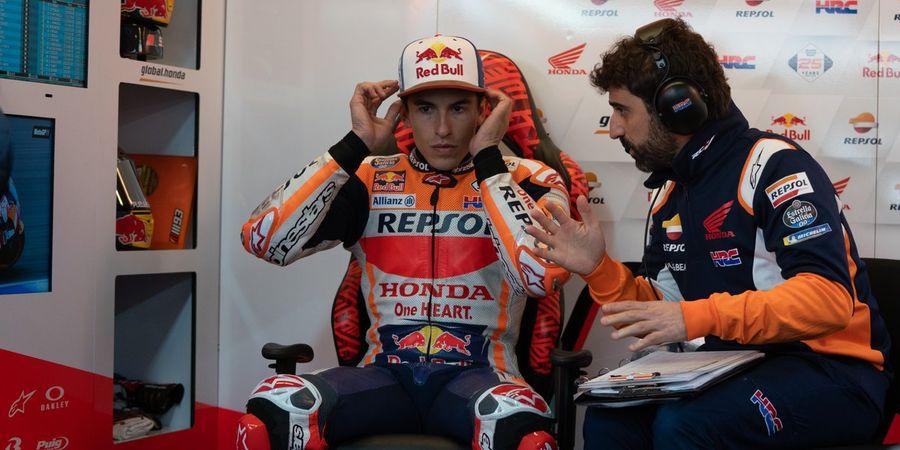 Meski Raih Pole Position, Marquez Masih Temukan Masalah di Motornya