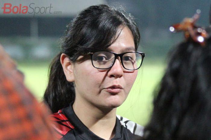 Mantan Sekjen PSSI, Ratu Tisha Destria.