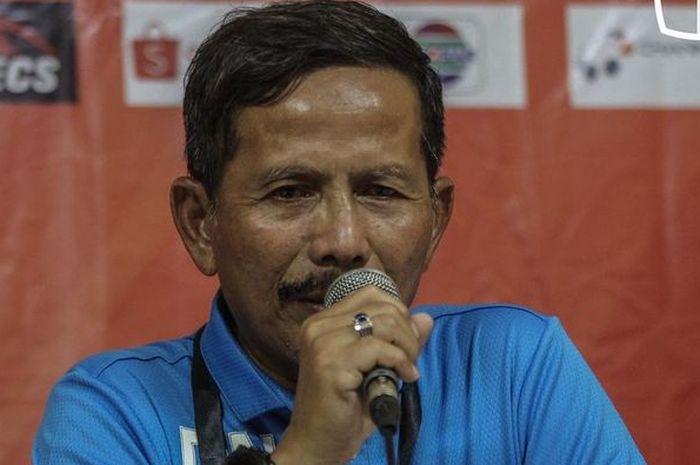 Pelatih Barito Putera Djadjang Nurdjaman punya alasan kenapa timnya tersingkir dengan kekalahan 0-1 dari Persija Jakarta.
