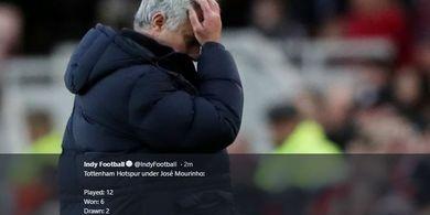 Gelar Latihan Ditengah Pandemi COVID-19, Jose Mourinho Mengaku Menyesal