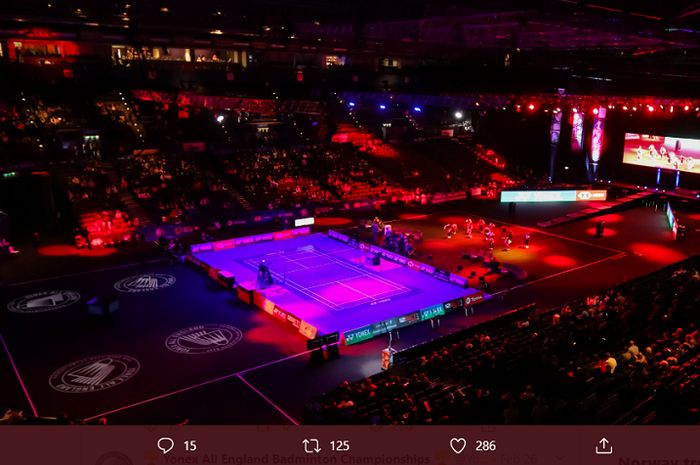 Arena Birmingham sebagai lokasi venue turnamen All England Open 2020.