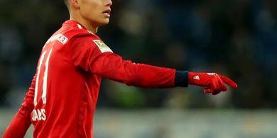 Napoli Ingin Bayar Uang Transfer James Rodriguez secara Dicicil