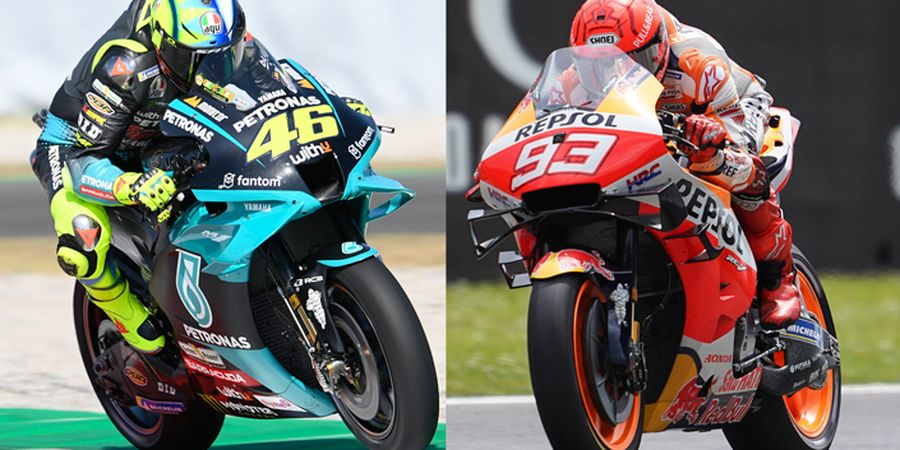 MotoGP Jerman 2021 - Valentino Rossi Ramal Nasib Marc Marquez di Sachsenring