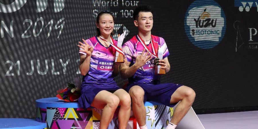 Hasil Final Kejuaraan Dunia 2019 - Jadi Wakil Satu-satunya China, Zheng /Huang Pertahankan Gelar