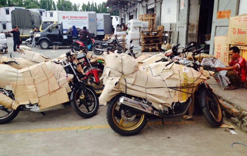 Ini Ongkos Kirim Motor Pakai Jasa Ekspedisi Kargo, Lumayan Juga ...