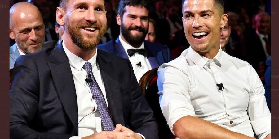 Legenda Barcelona: Banyak Orang Mimpi Duetkan Messi dan Ronaldo di Juventus