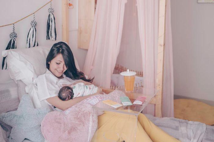 Sharena bersama anak keduanya