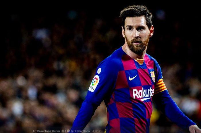 Megabintang asal Argentina, Lionel Messi, didapuk sebagai kapten Barcelona.