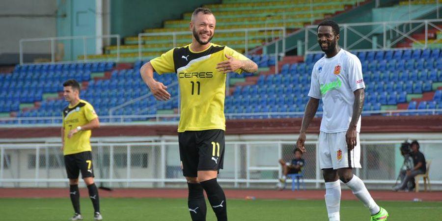 Pernah Diminati Madura United, Bintang Ceres Negros Beri Jawaban