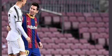 Pilih Messi atau Ronaldo, Bek Manchester United Beri Jawaban Tak Terduga