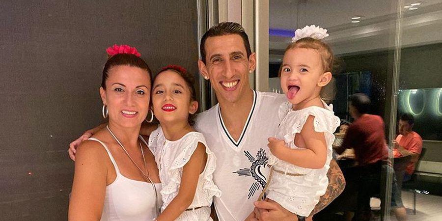 Ucapan Sinis Istri Angel Di Maria Berbuntut Ejekan dari Legenda Manchester United