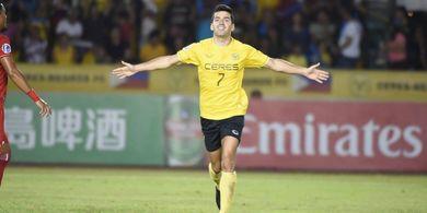 Bobol Persija, Pemain Ceres Negros Puncaki Daftar Top Scorer Piala AFC 2019