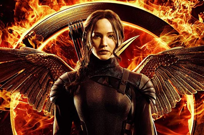 Poster film The Hunger Games.