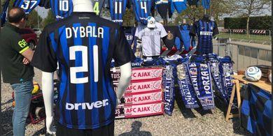 Kostum Inter Milan dengan Nama Paulo Dybala Sudah Beredar, Kode?